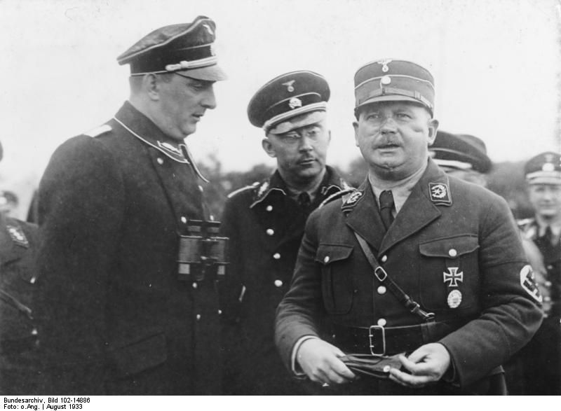 Kurt Daluege, Heinrich Himmler, Ernst Röhm
