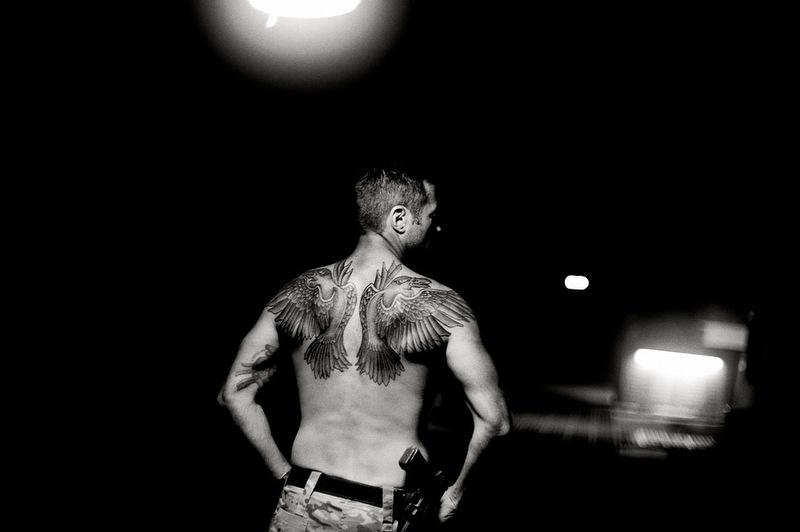Татуировки датских солдат в Афганистане