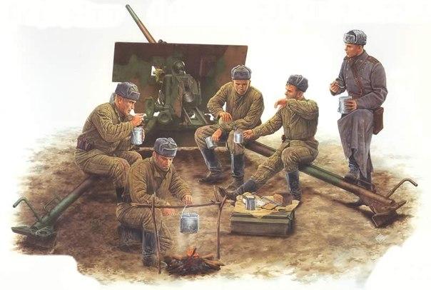 artilleristy
