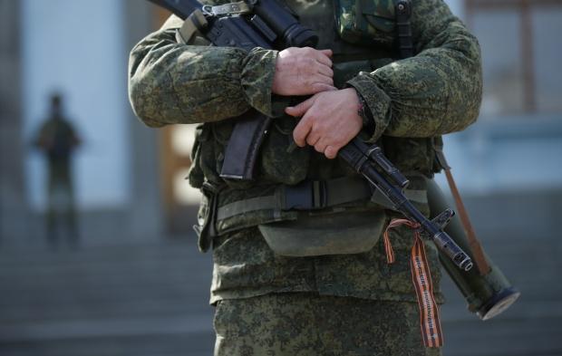 Неопознанный воинский контингент в Крыму