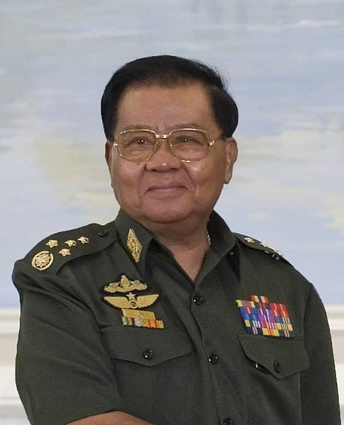 Генералиссимус Тан Шве — военный диктатор Мьянмы