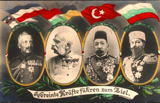 outbreak of world war i leaders