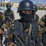 Девушки из презедентской гвардии Палестины