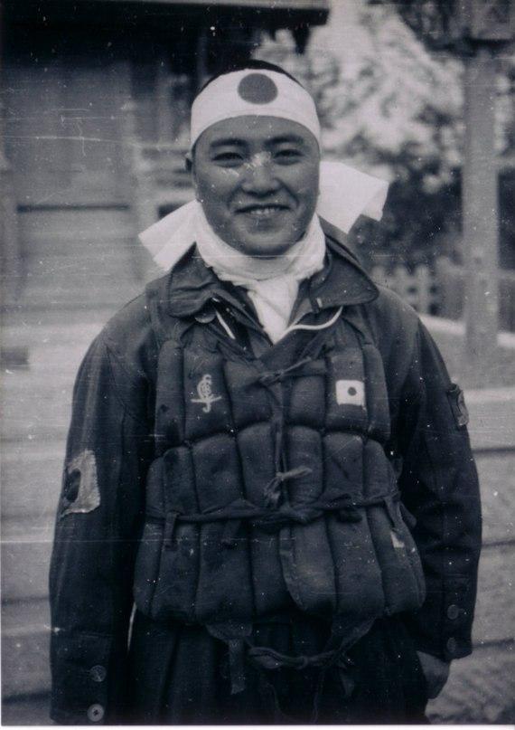 Пилот-камикадзе Киёси Огава