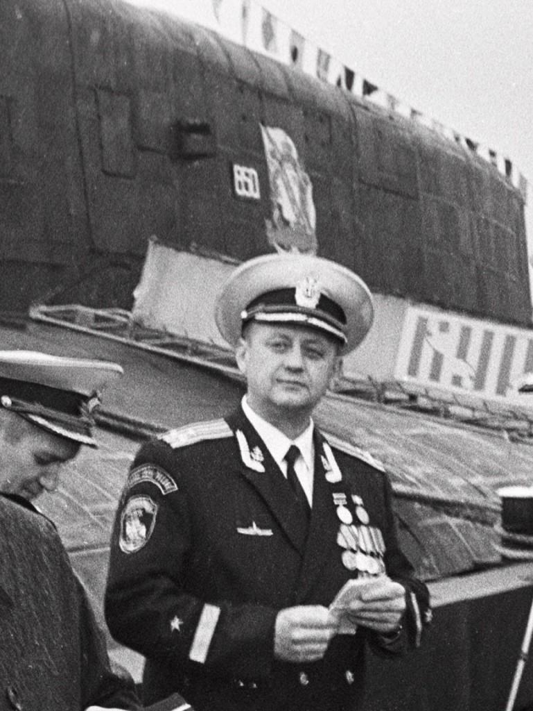 капитан 1-го ранга Геннадий Лячин