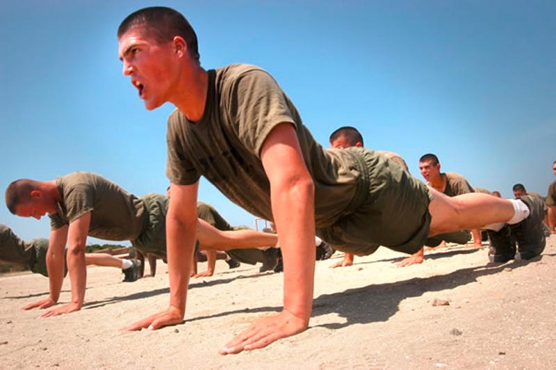 Физподготовка в армиях разных стран