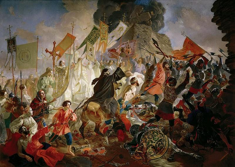 Осада Пскова польским королём Стефаном Баторием в 1581 году