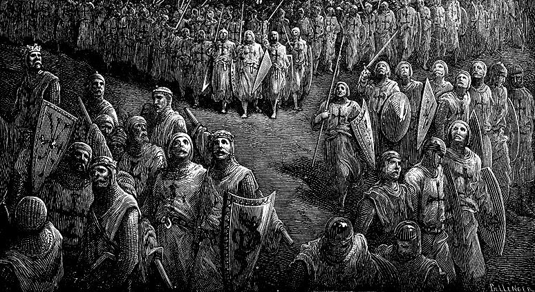Взятие города Безье