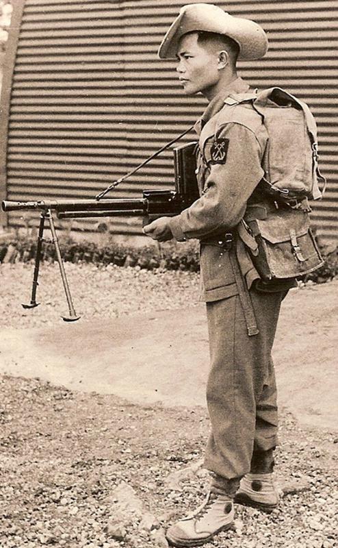 1950 год - Война с вьетнамцами в Индокитае