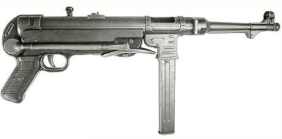 MP 40, немецкий автомат Maschinenpistole