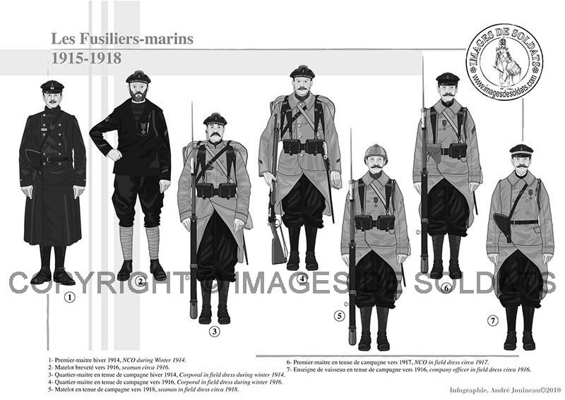usiliers-marins-1914-1918