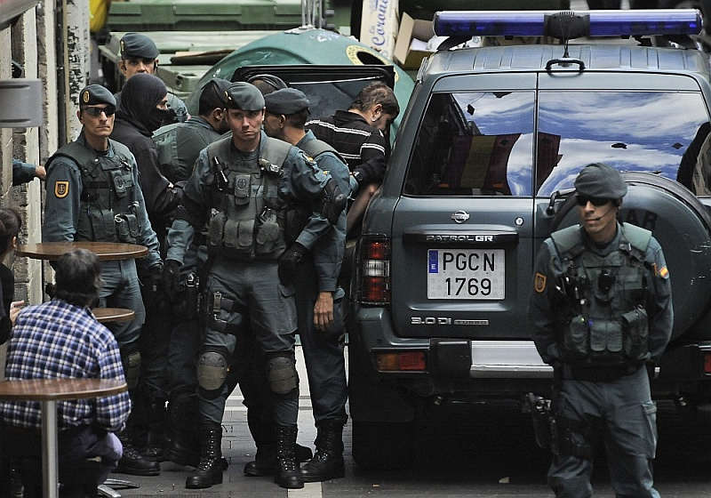 Бойцы Национальной гвардии Испании