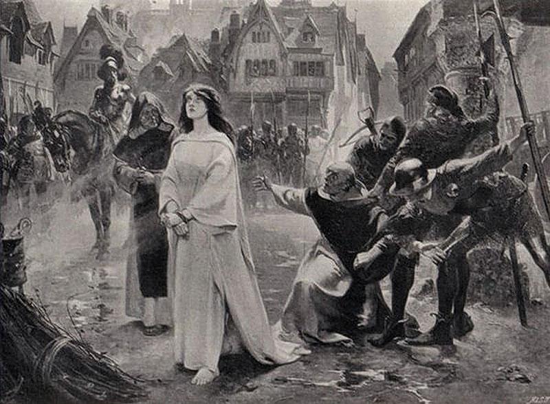Памяти Жанны д'Арк