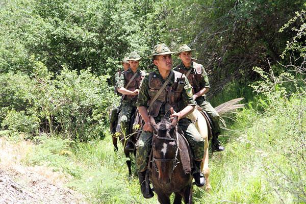 туркменские пограничники