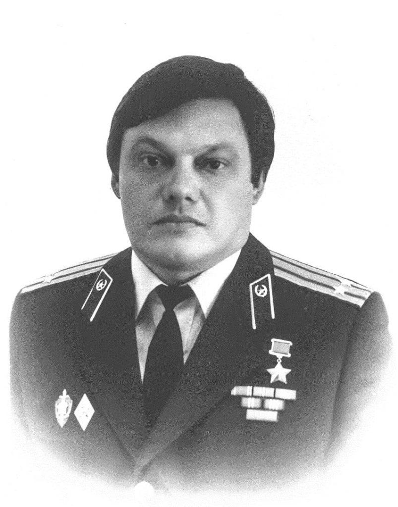 Командир Группы «А» КГБ СССР генерал Виктор Карпухин