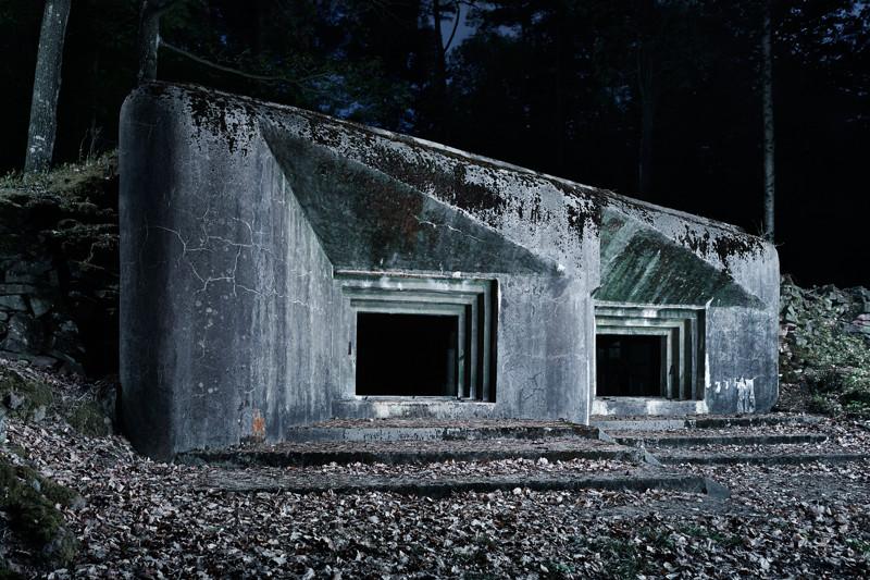 Артиллерийский каземат, часть укреплений на линии Мажино