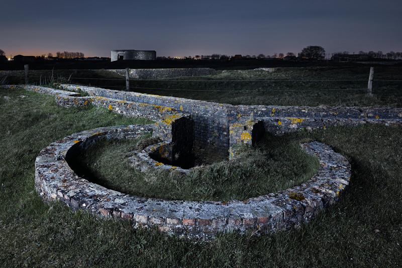 Окопы и бункер типа 669, Бельгия