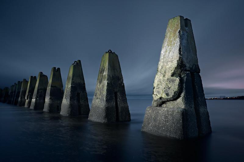 Препятствия для защиты от подводных лодок, Шотландия