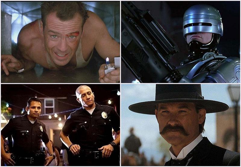 Самые известные копы из голливудских фильмов