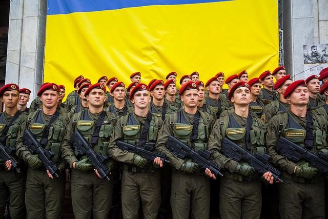 форма Национальной гвардии Украины