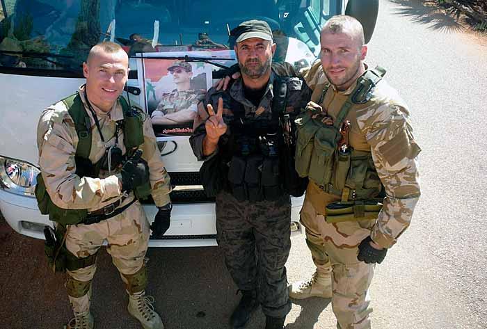 Бойцы «Славянского корпуса»