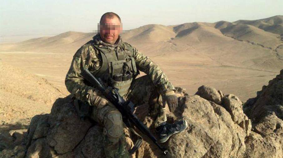 фото одного из погибших наемников под Пальмирой
