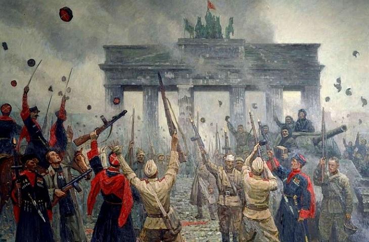 казаки в Берлине