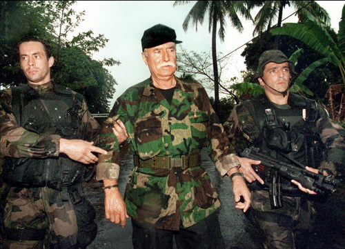 French veteran mercenary Bob Denard