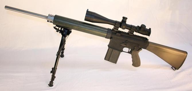 История автоматической винтовки AR-10