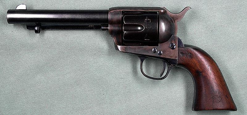 Револьвер Кольта: покорение Дикого Запада