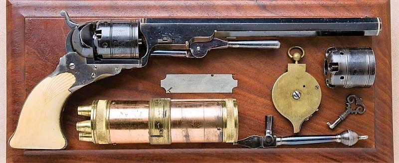 Револьвер Кольта покорение Дикого Запада