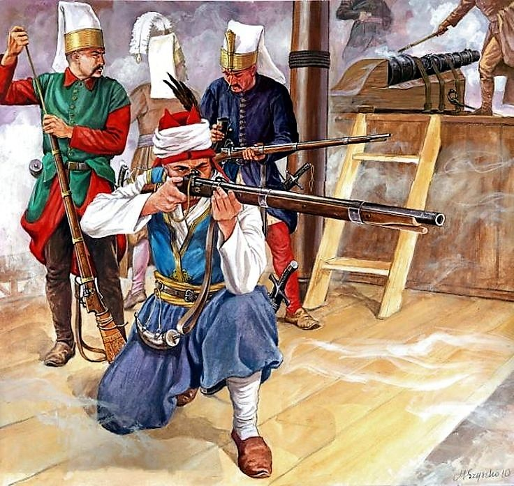 Элитная пехота турецкого султана