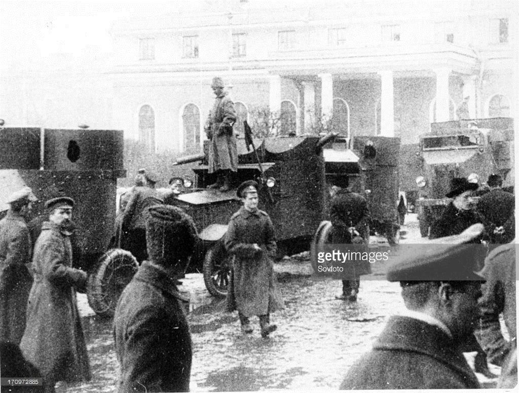 Так, была Великая Октябрьская Социалистическая революция, или нет? Сейчас, складывается такое впечатление, что ничего такого у нас никогда и не было.