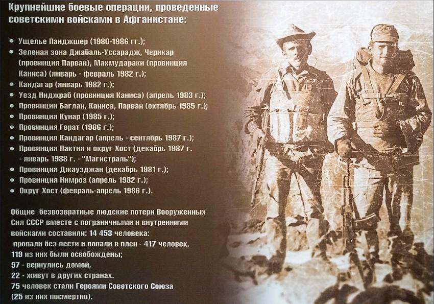 29-я годовщина вывода советских войск из Афганистана