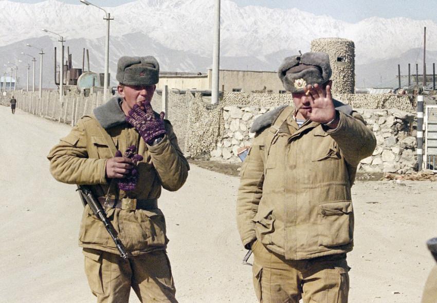 Блокпост в Кабуле, зима 1989 года