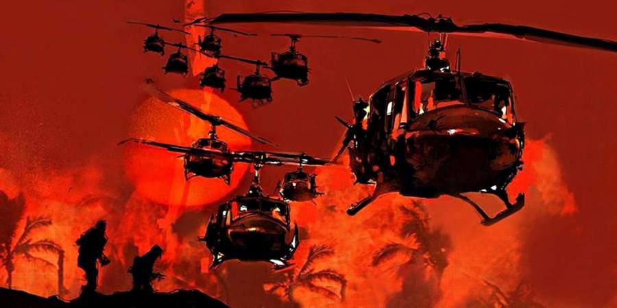 Лучшие сцены с боевыми вертолётами в кино
