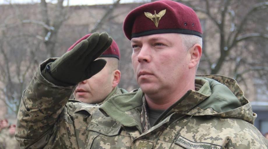 командующий десантно-штурмовыми войсками ВС Украины Михаил Забродский