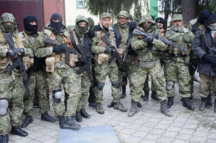 Так началась война в Украине