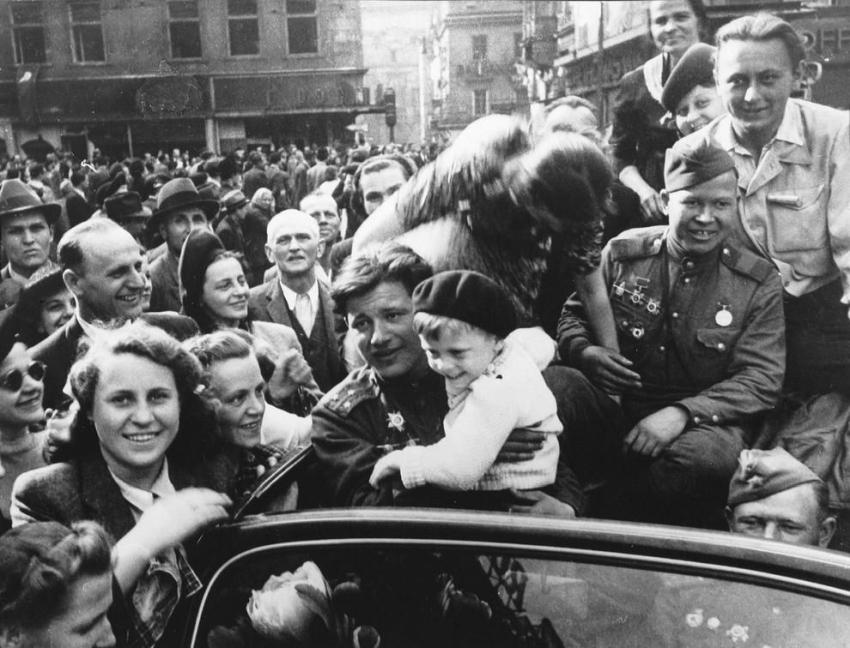 Чехословакия, Прага, май 1945