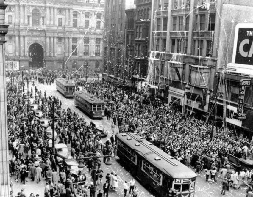 Филадельфия, 8 мая 1945