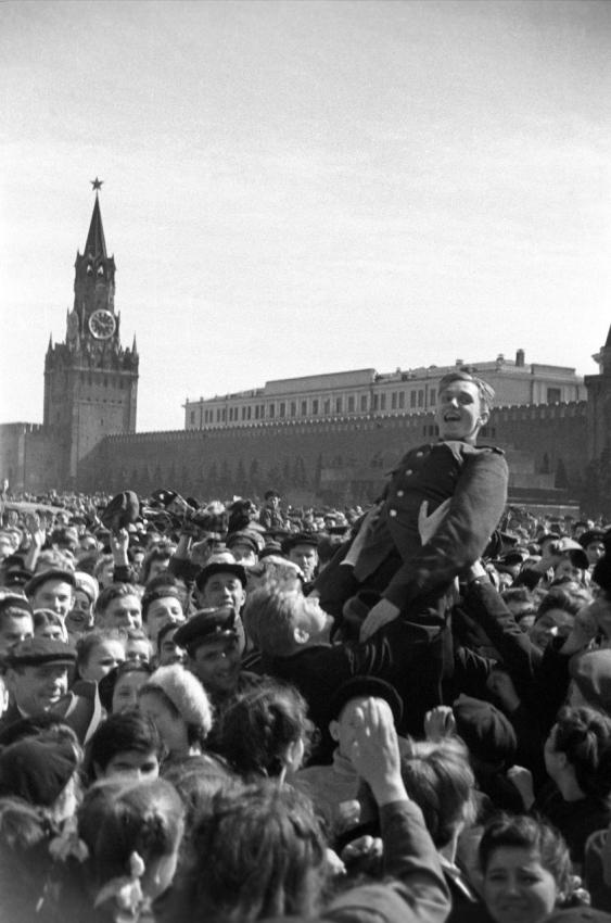 Москва, 9 мая 1945