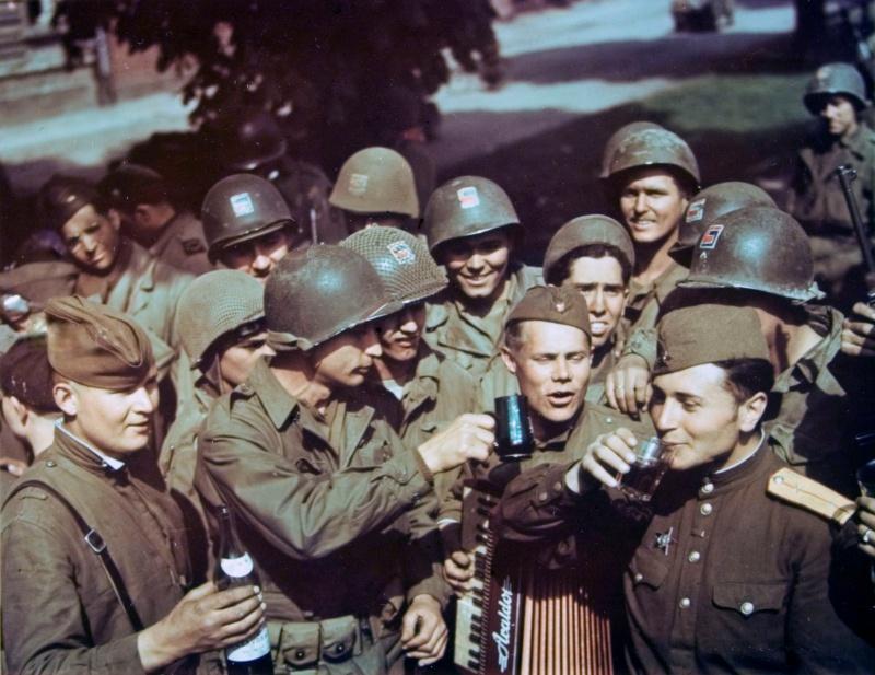 Как встречал мир 8-9 мая 1945 года