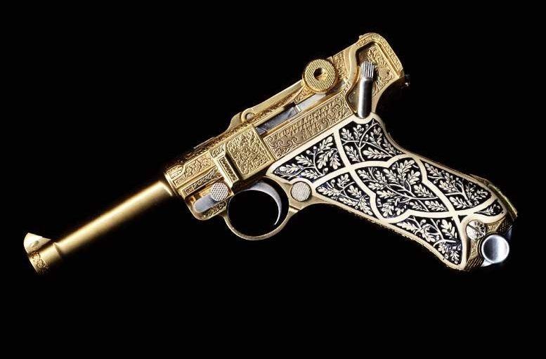 Гравировка огнестрельного оружия