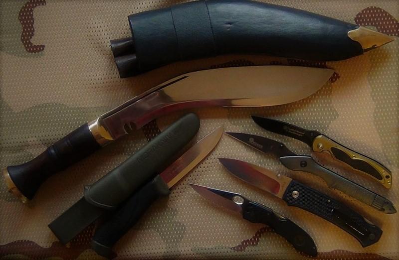Какой нож удобно взять с собой в турпоход