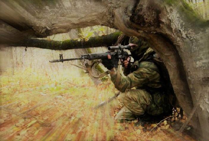 История одного снайпера