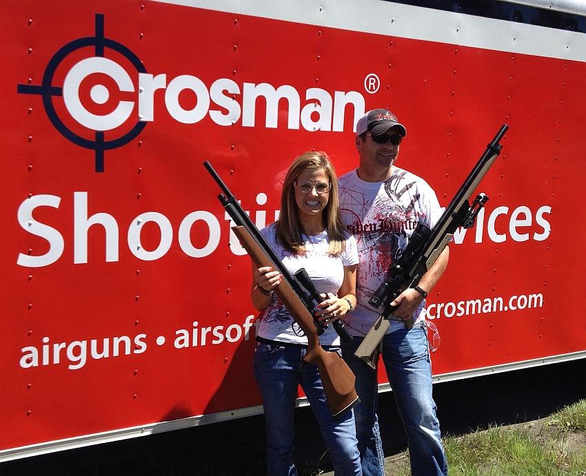 """Пневматические винтовки """"Сrosman"""" - недорогое и мощное оружие"""