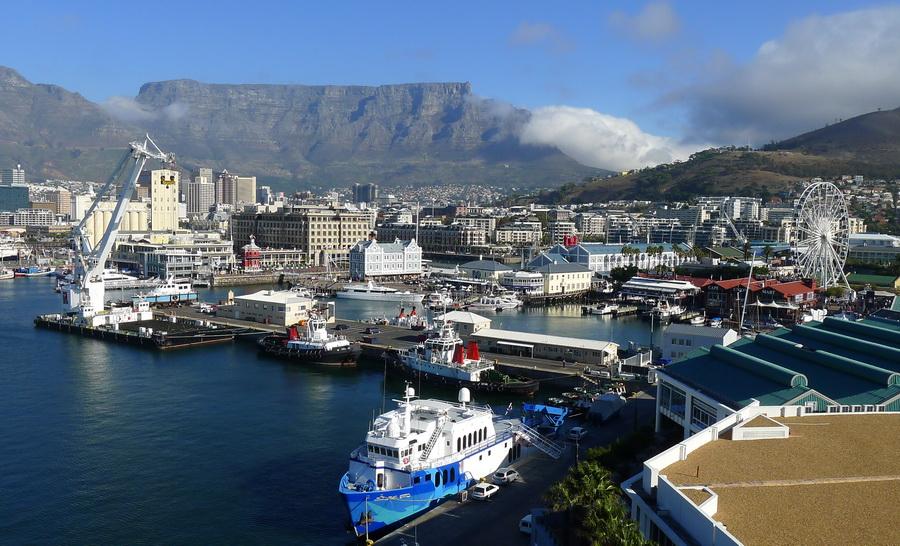 В Кейптаунском порту