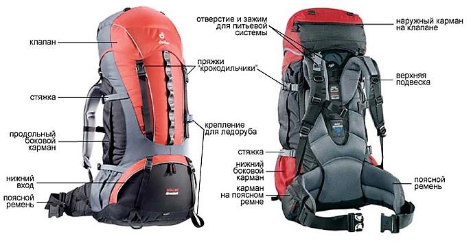 Какие бывают рюкзаки