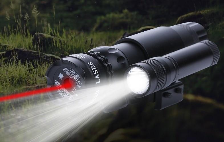 Использование лазерных целеуказателей