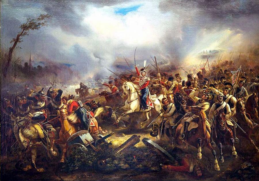 Подвиг лейб-гвардии Казачьего полка при Лейпциге